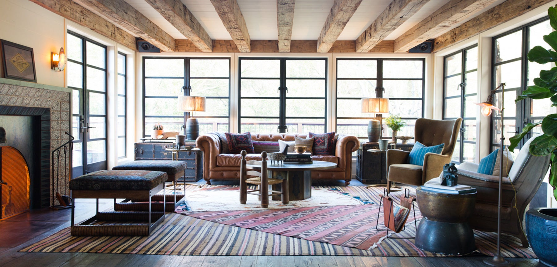 Blake Myscoskie living room by Hammer and Spear