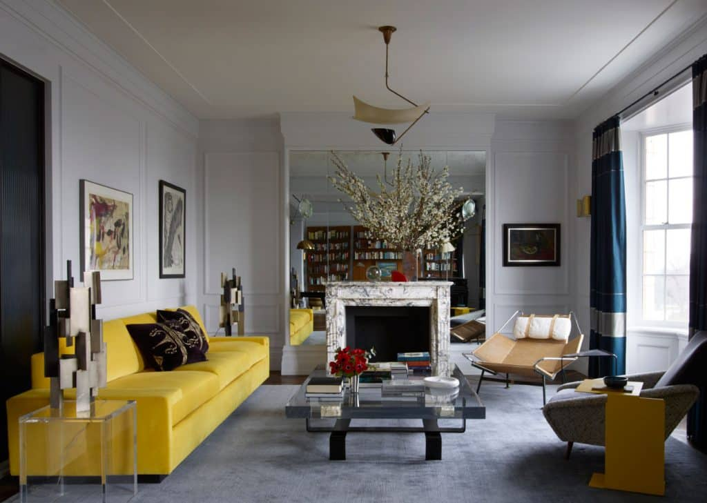 Central Park West apartment by Fawn Galli