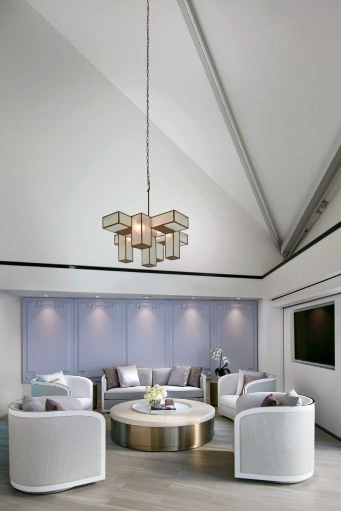 Australian architect interior designer Blainey North Sydney penthouse pool cabana