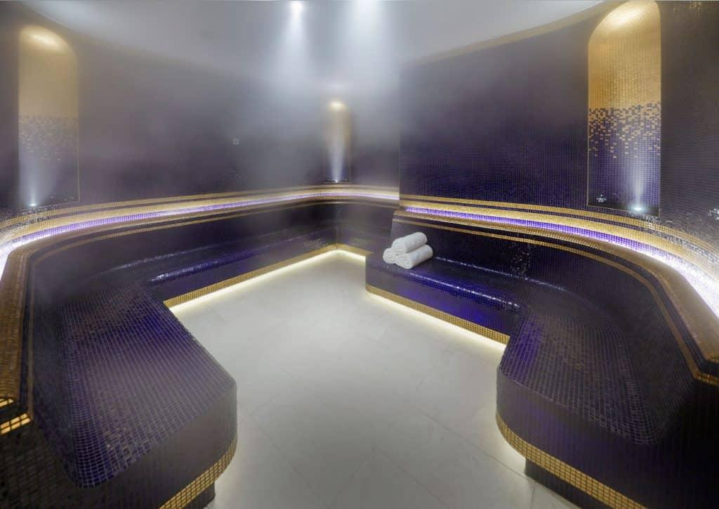 Australian architect interior designer Blainey North Perth spa steam room