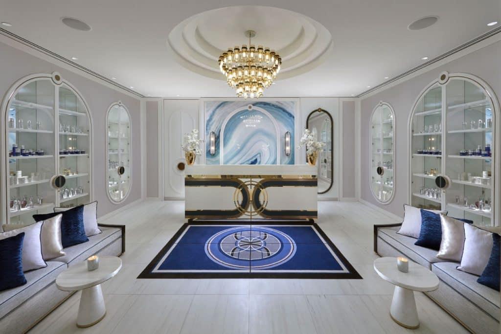 Australian architect interior designer Blainey North Perth spa reception