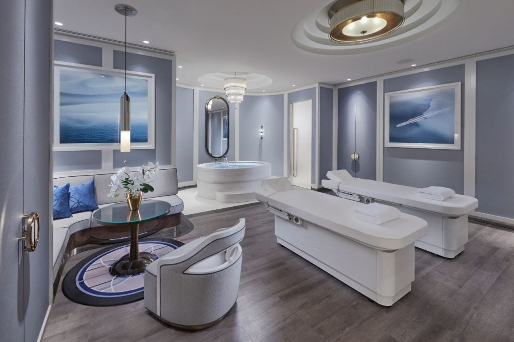 Australian architect interior designer Blainey North Perth spa treatment room