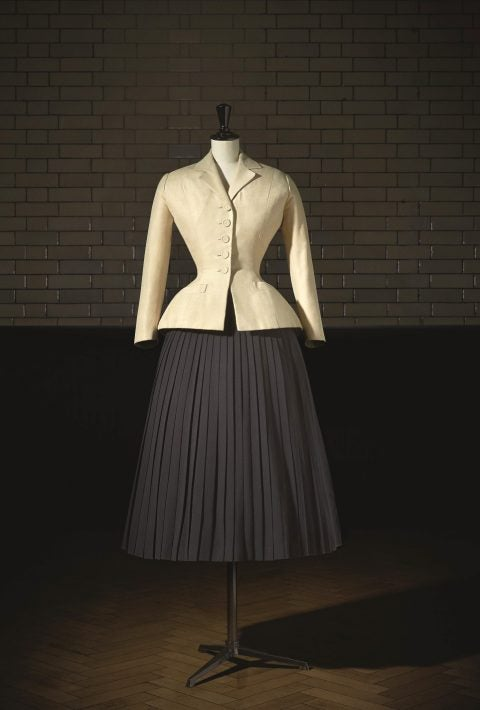 Christian Dior's 1947 Bar Suit