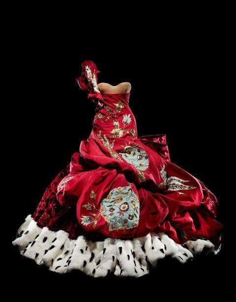 Christian Dior by John Galliano haute couture Autumn/Winter 2004 dress
