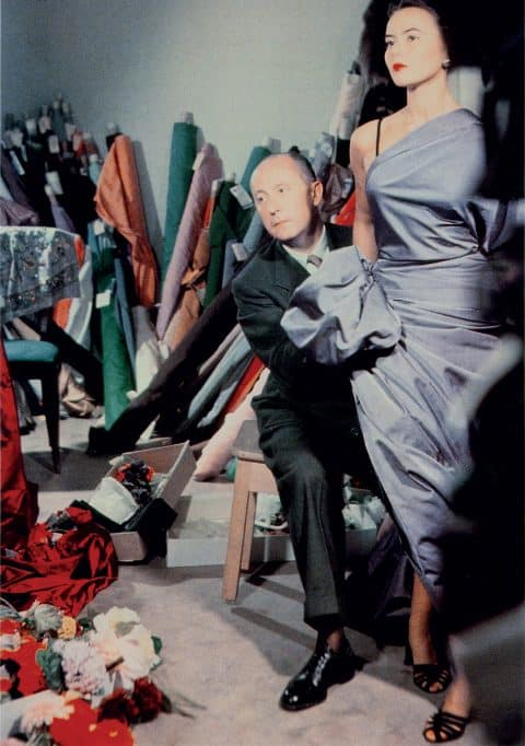Christian Dior with the model Sylvie
