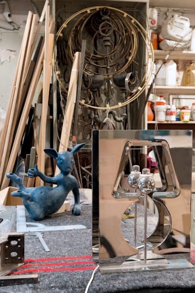 Hubert Le Gall's Paris studio