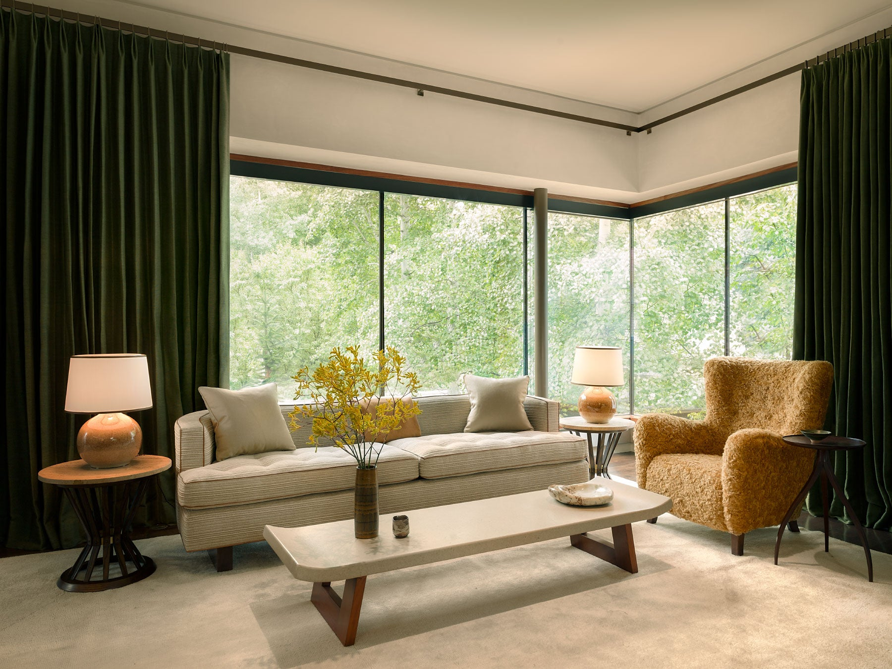 Aspen living room by Clive Lonstein