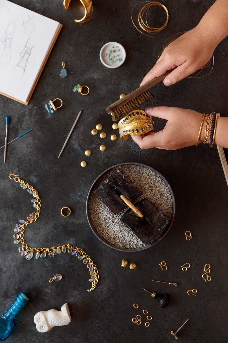 A New Wave Jewelry Genius Who Makes Her Pieces the Old-Fashioned Way