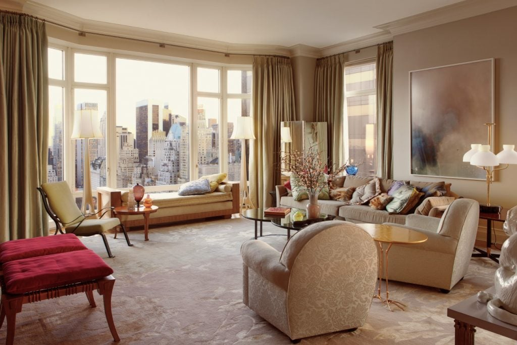 New York living room by The Archers