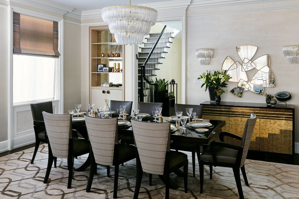 JDK Interiors Dining Room