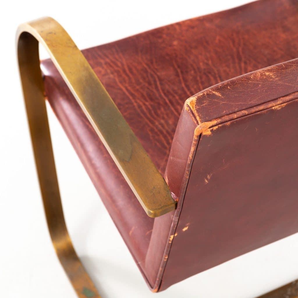 Mies van der Rohe Matthew Rachman Gallery Chicago Blues and Beyond blueprints Brno chair for Brueton bronze