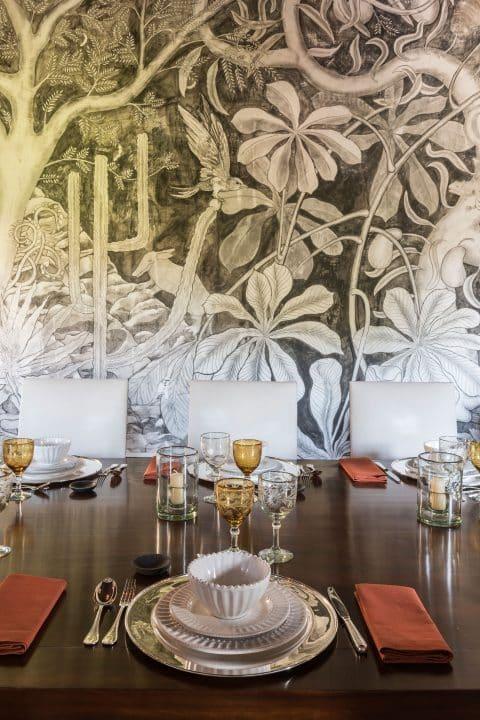Luis Laplace Morelia Mexico Casa Michelena dining room