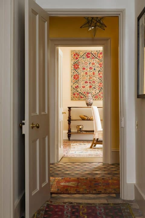 The hallway of an Oxfordshire home, by Hugh Leslie