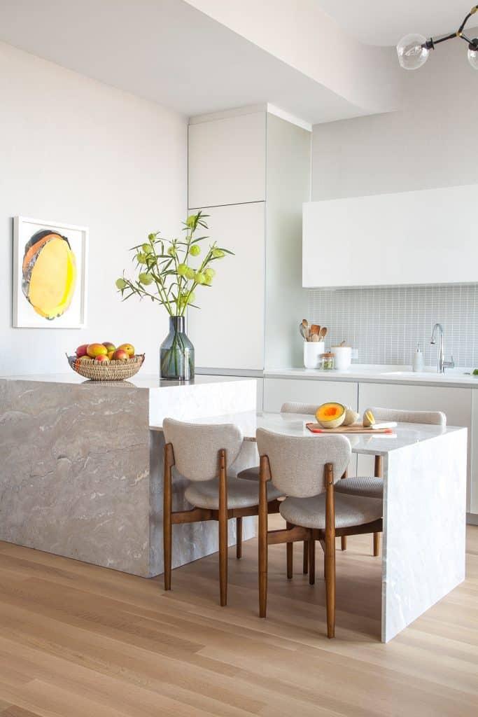 Manhattan kitchen by JDK Interiors