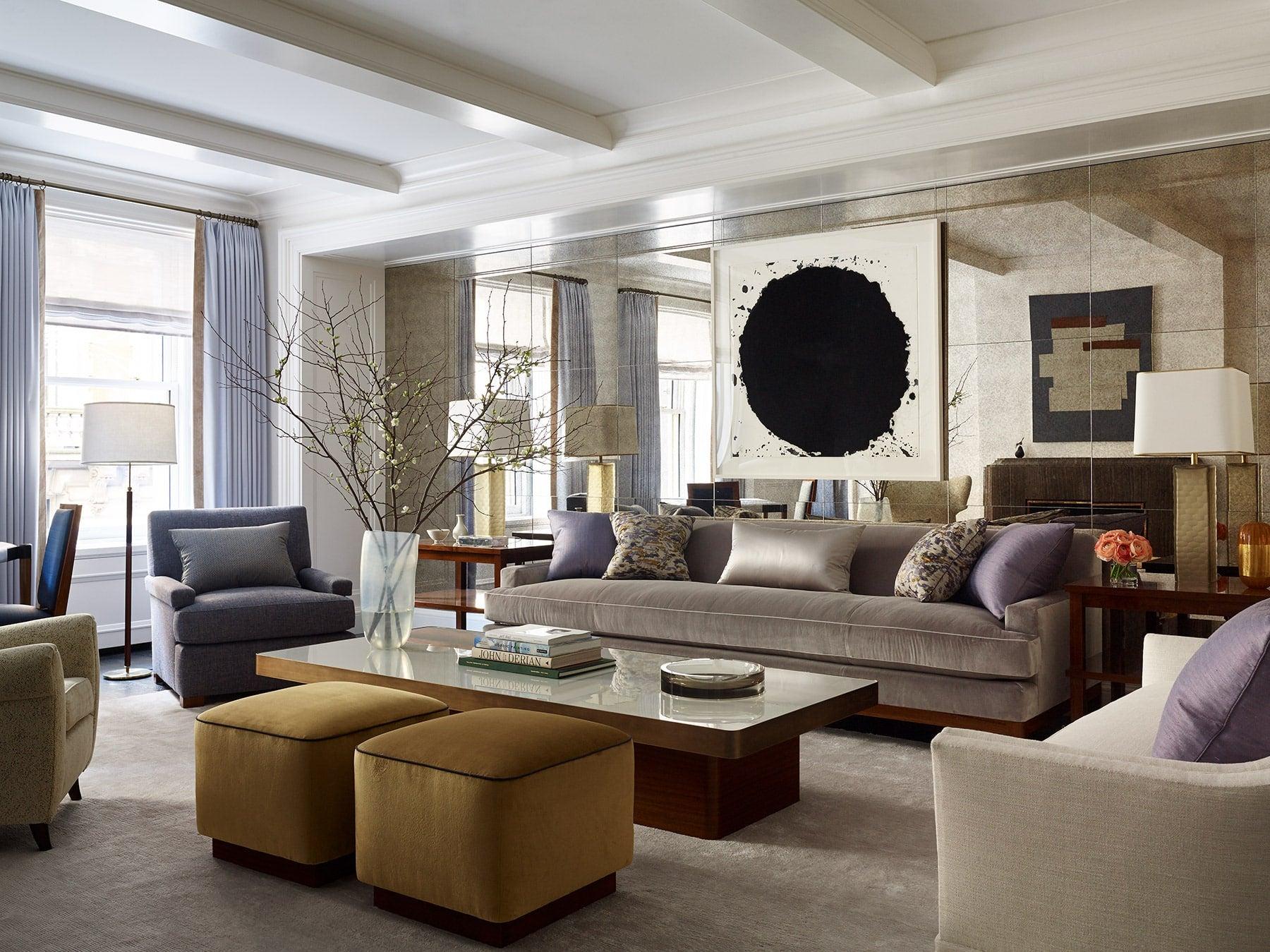 Sawyer Berson Interiors Living Room