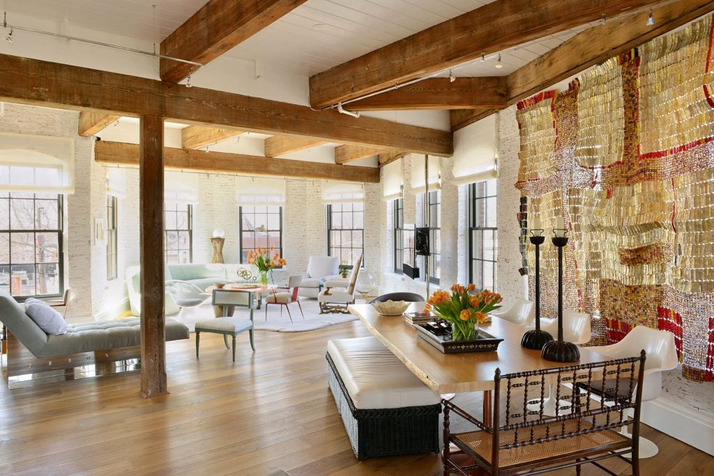 Sag Harbor loft by Vicente Wolf