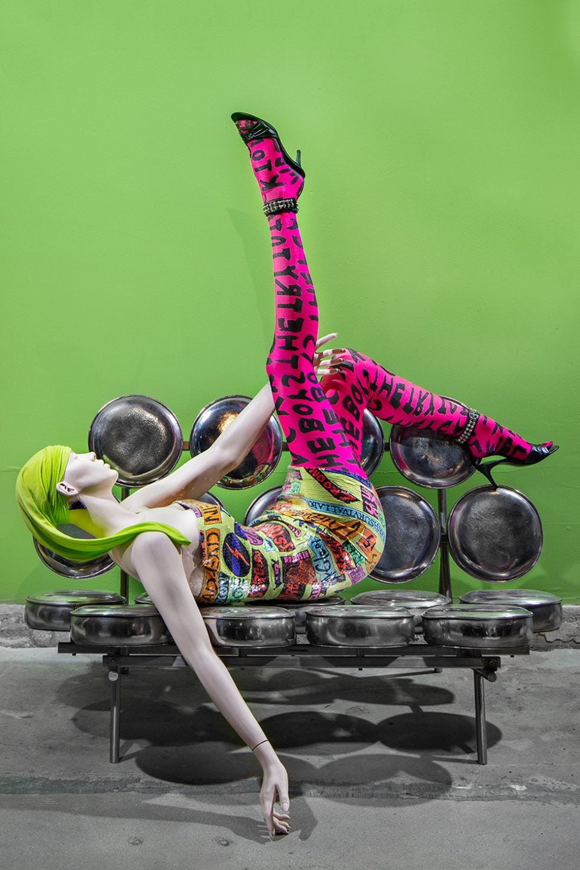 JF Chen's 'Collision' Combines High Fashion and Haute Furniture