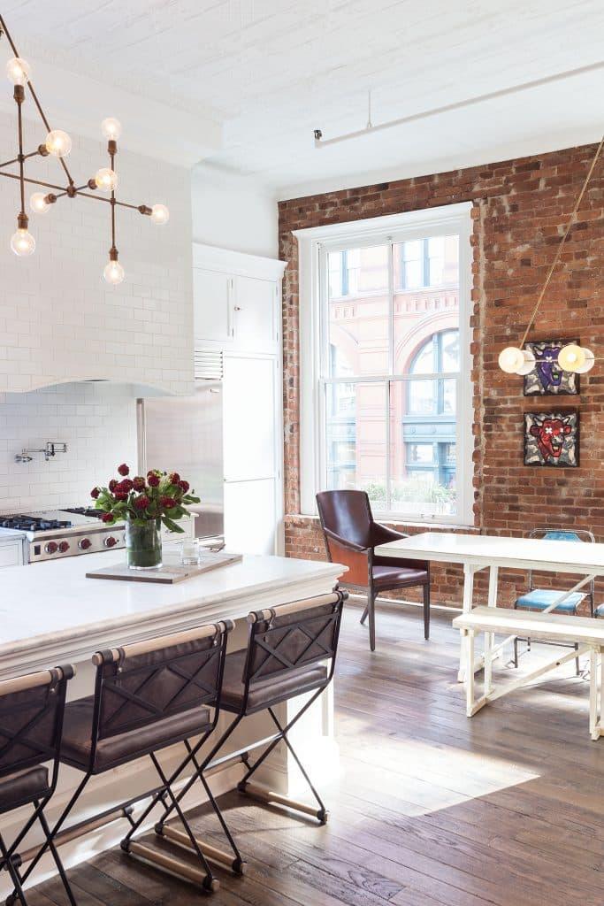 Interior designer Drew McGukin Soho New York Kitchen