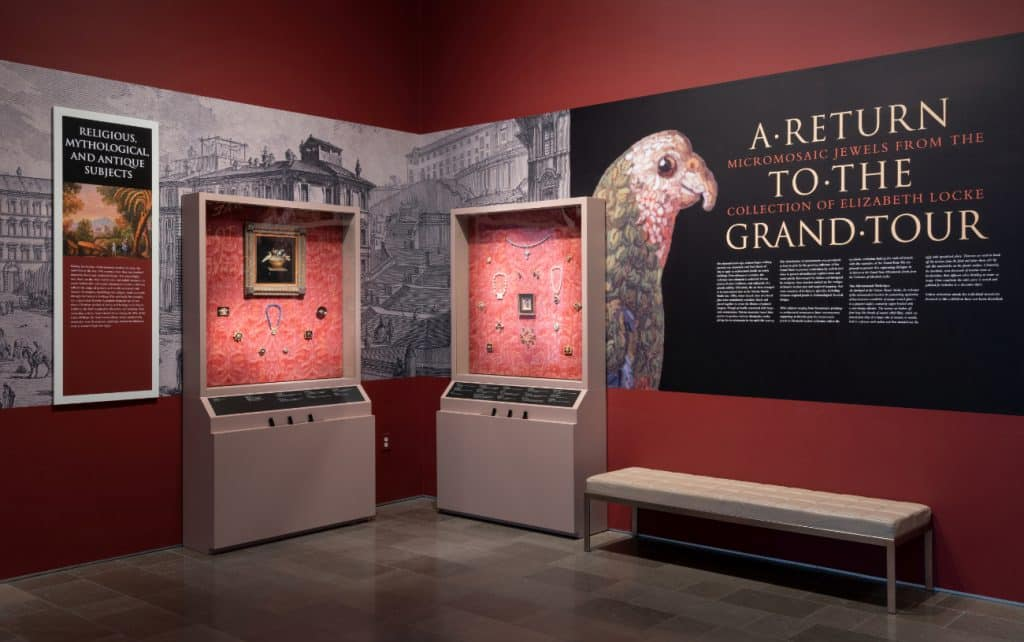 "The VMFA's ""A Return to the Grand Tour: Micromosaic Jewels from the Collection of Elizabeth Locke"