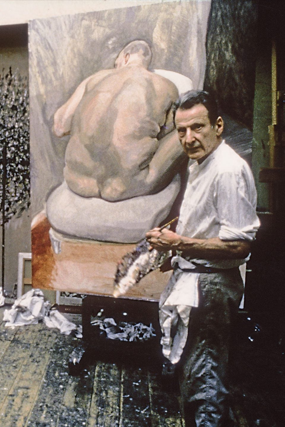 13 of Lucian Freud's Larger-Than-Life Nudes Are on View
