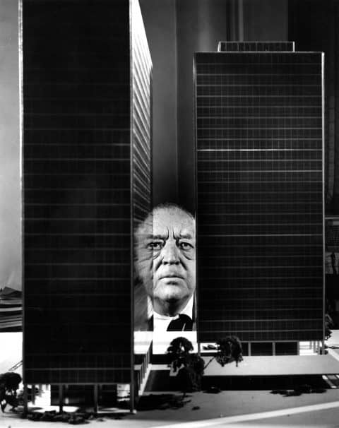Mies van der Rohe Matthew Rachman Gallery Chicago Blues and Beyond blueprints Lake Shore Drive towers