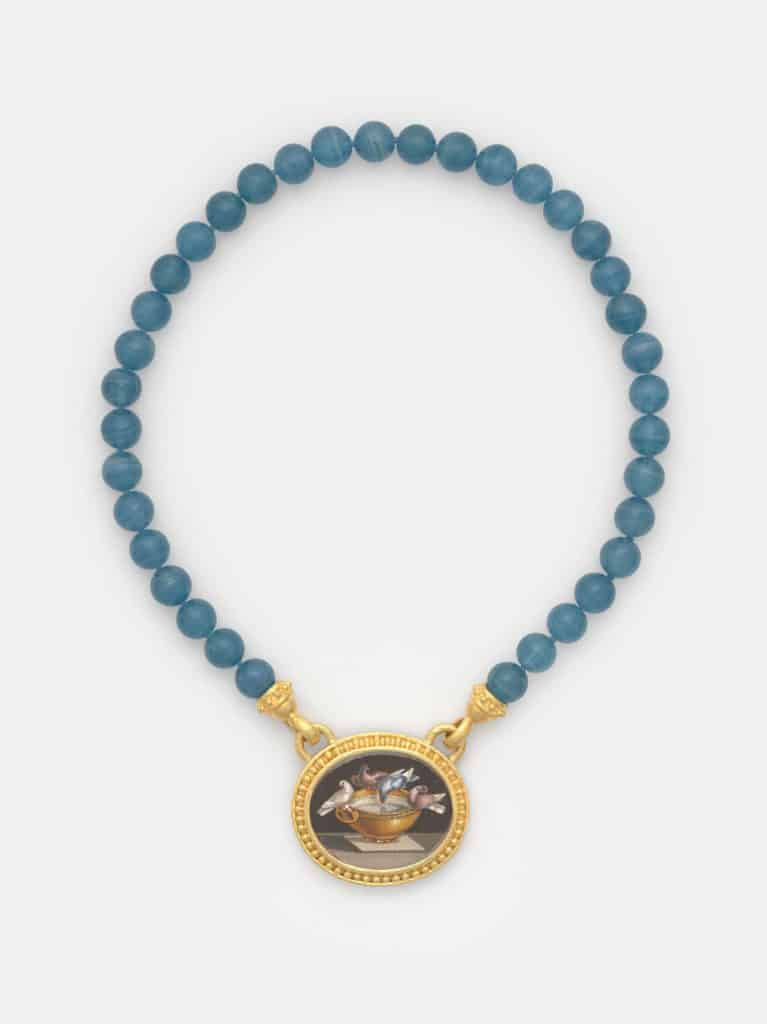 Doves of Pliny necklace