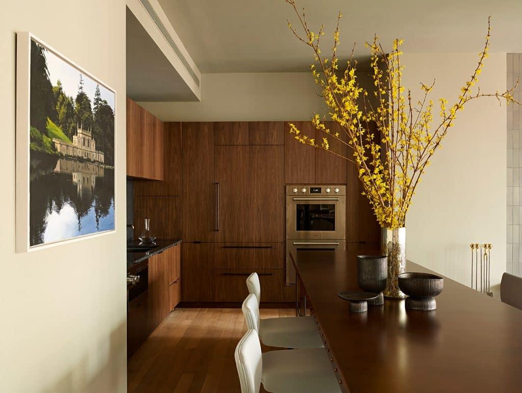 A Manhattan kitchen designed by Frampton Co.