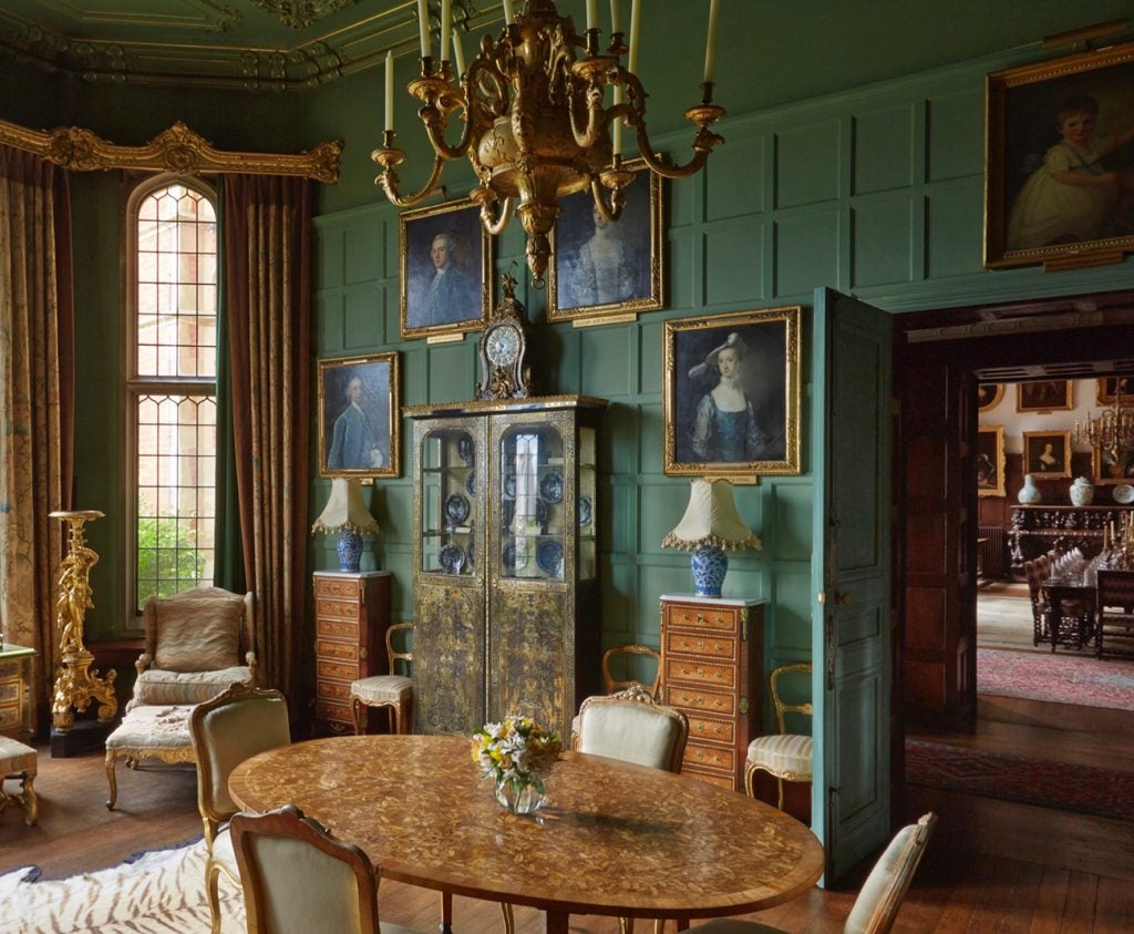 Morning Room at Madresfield Court