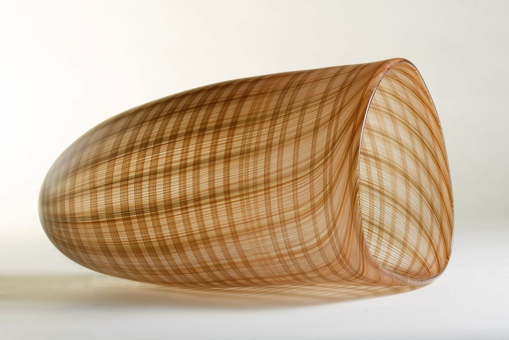 Corning Museum of Glass New Glass Now Jennifer Kemarre Martiniello Red Sedge Reeds fish basket