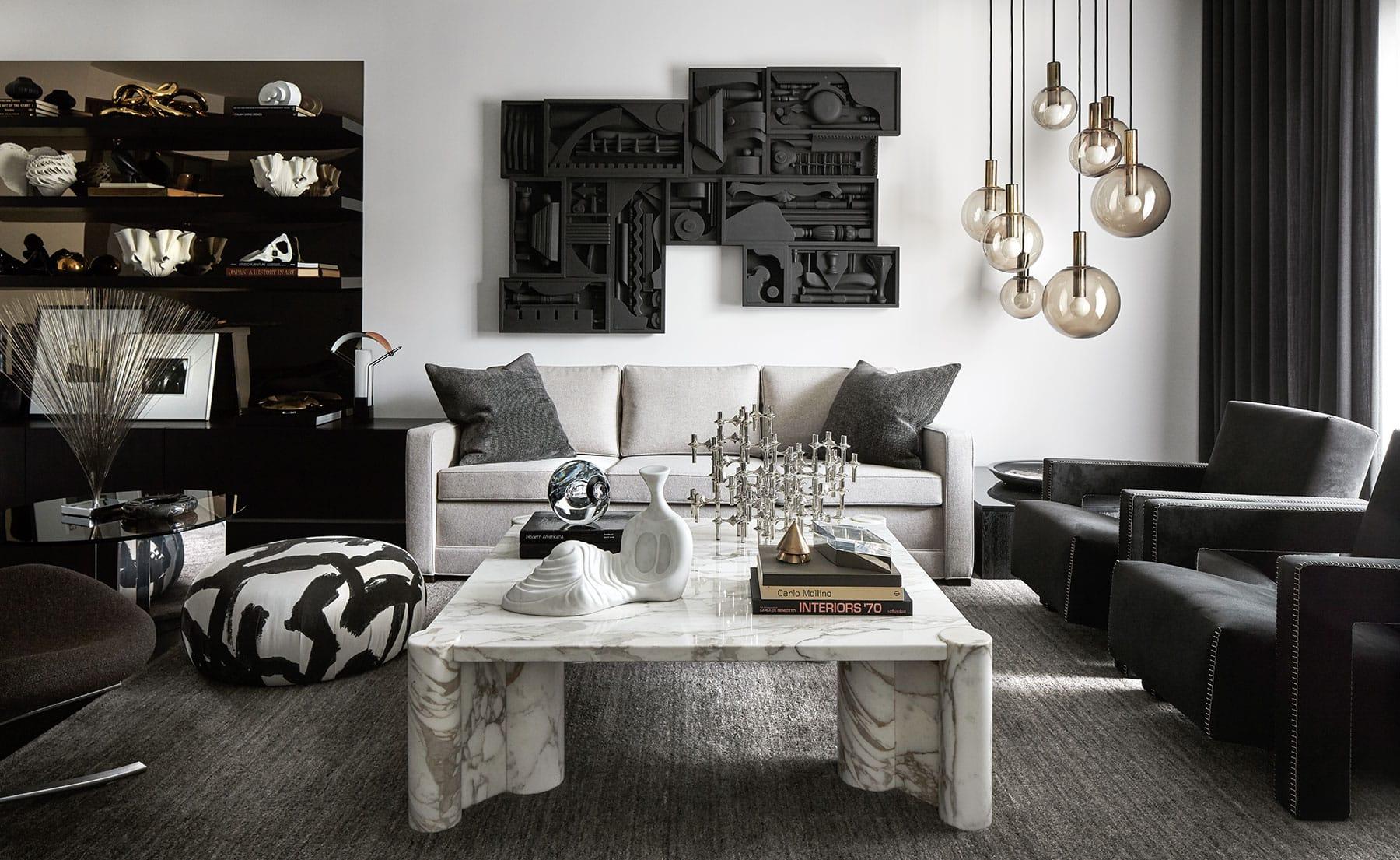 Vern + Vera's Sean Cowan and Eric Silverstrim living room
