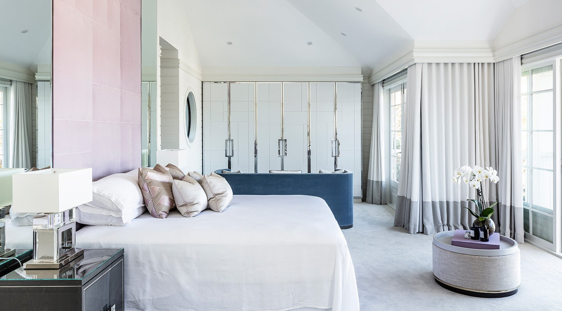 Australian architect interior designer Blainey North Palm Beach Florida bedroom