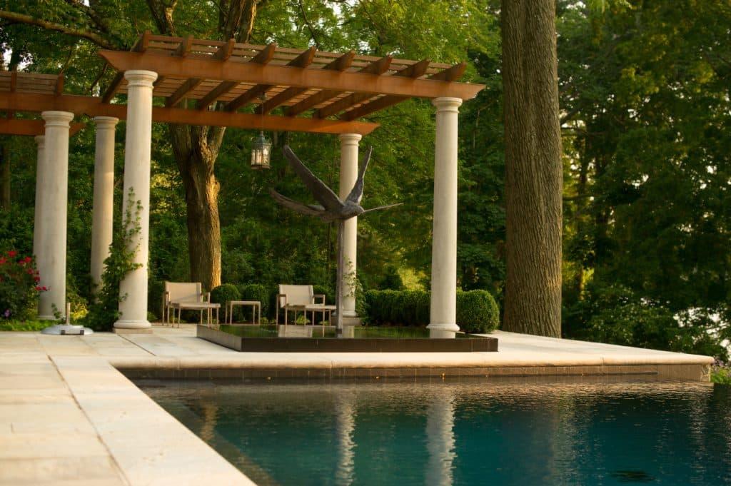 pool terrace by Janice Paker