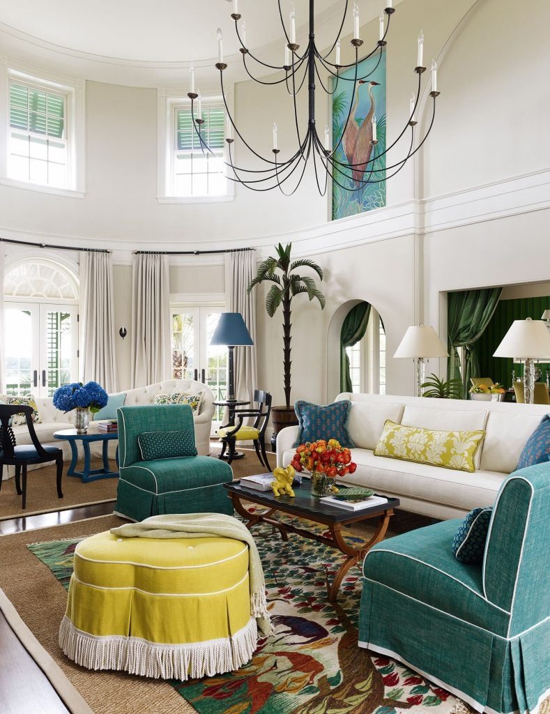 Bill Brockschmidt and Courtney Coleman Brockschmidt & Coleman Lake Wales Florida living room