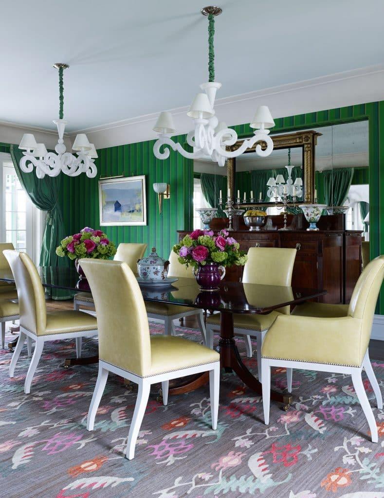 Bill Brockschmidt and Courtney Coleman Brockschmidt & Coleman Lake Wales Florida dining room
