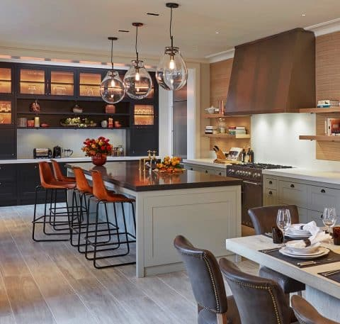 Kitchen at the Notting Hill Rental Residence