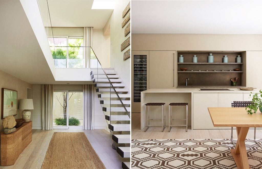 Entryway and Kitchen of the Battersea Residence