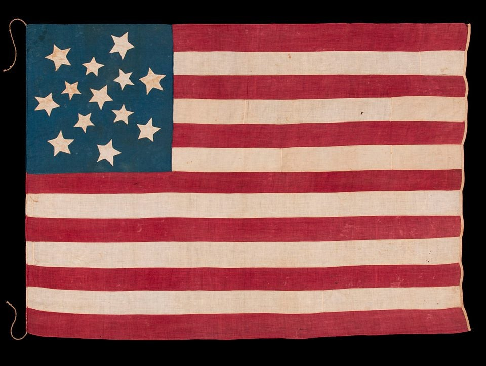 The 13-Star American Flag Had More Variations Than You'd Think