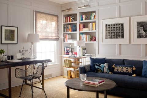 Charlotte Barnes Interiors Greenwich Residence Den