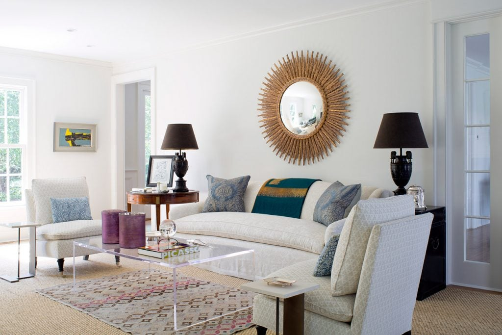 Charlotte Barnes Interiors Greenwich Residence Living Room
