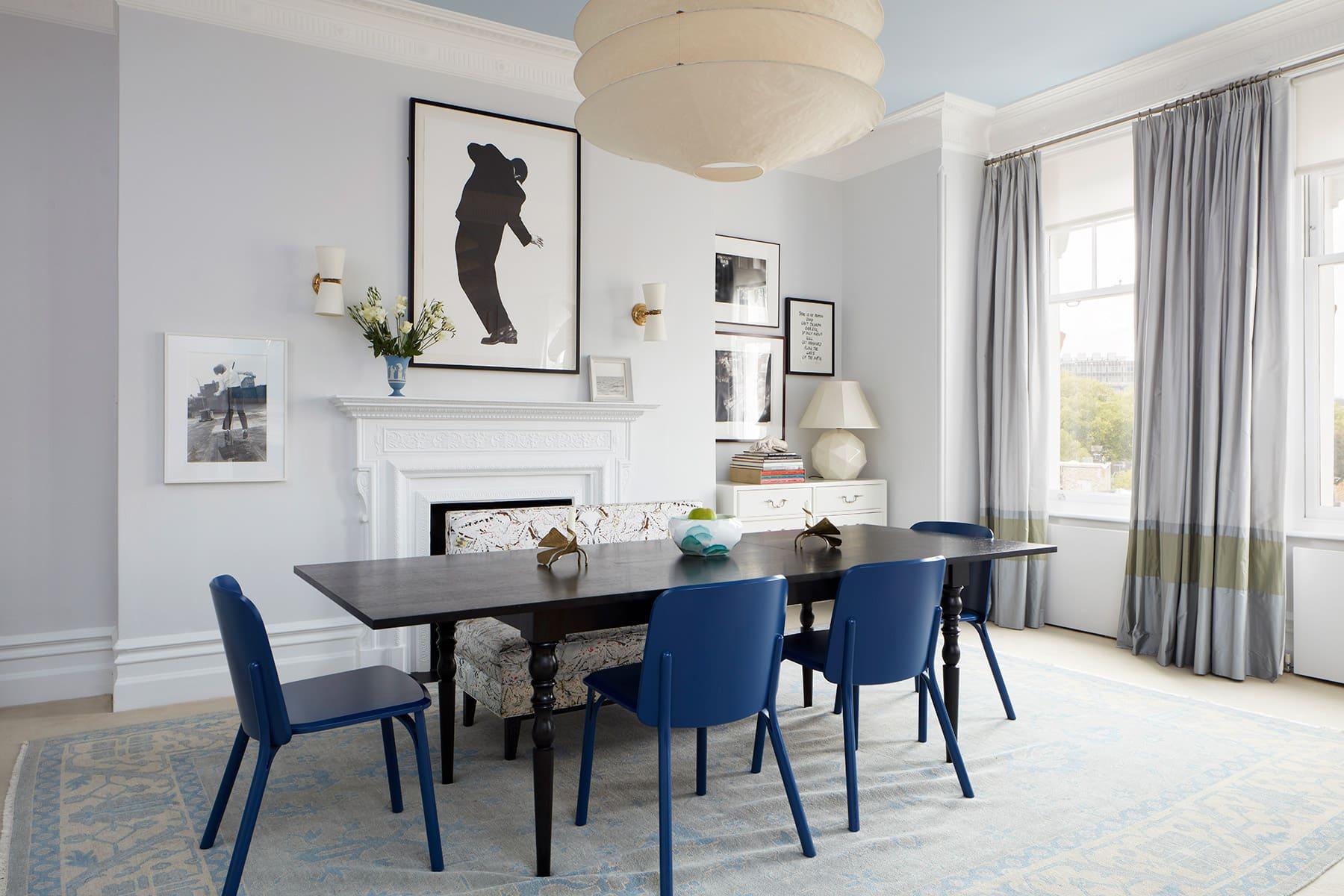 Fawn Galli Interiors Dining Room