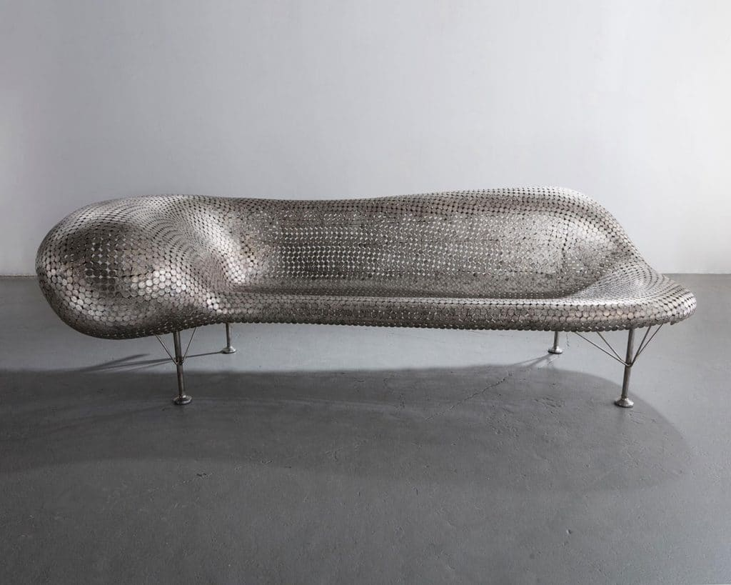 Johnny Swing nickel couch