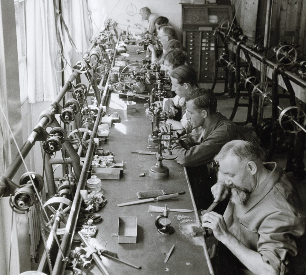 Patek Philippe factory