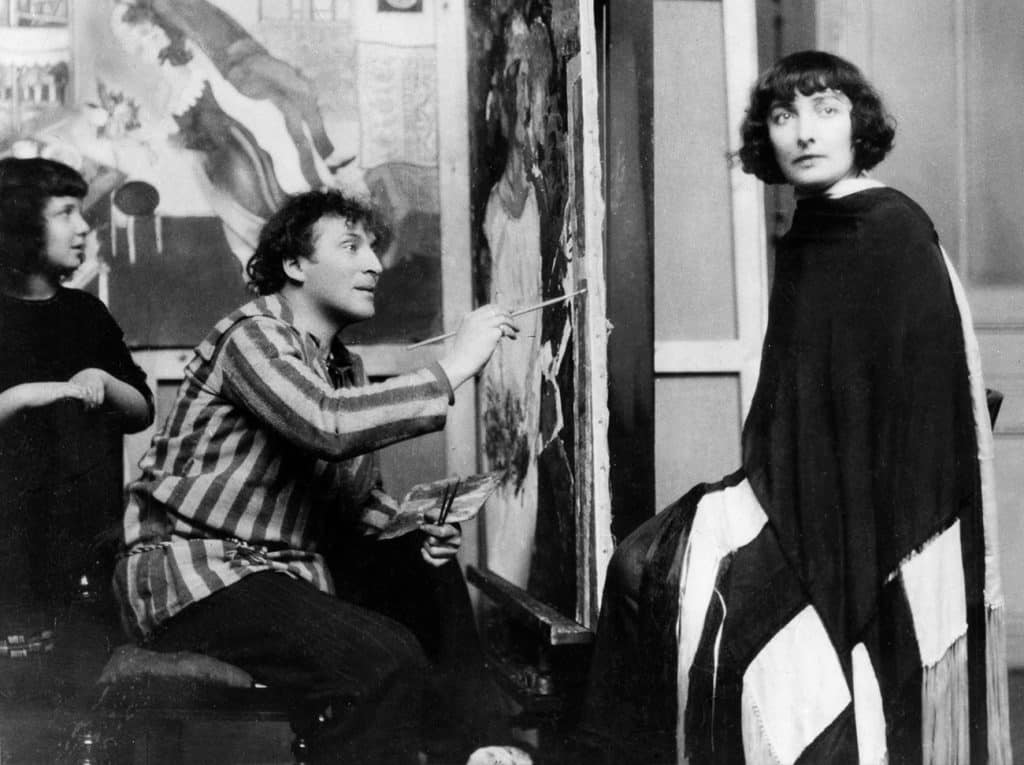 Marc Chagall and Bella