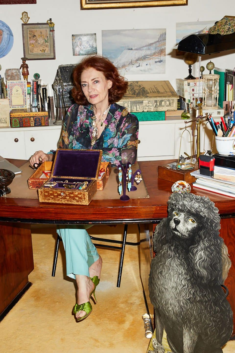 Sylvie Corbelin's Paris Home Is as Bohemian as Her Jewelry Creations